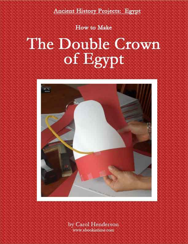 Double Crown of Egypt Craft for Kids